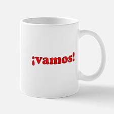 ¡vamos! (red) Mug