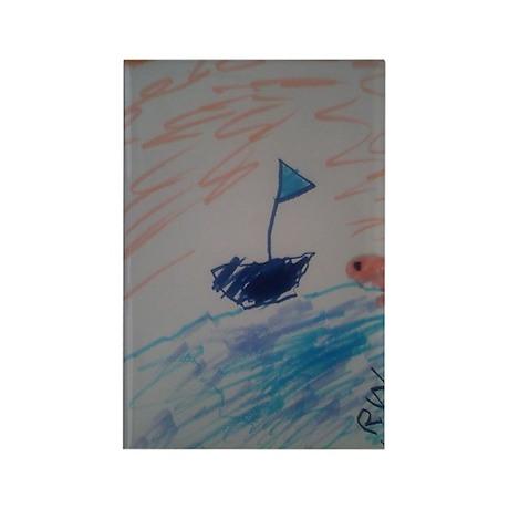 Sailboat Magnet