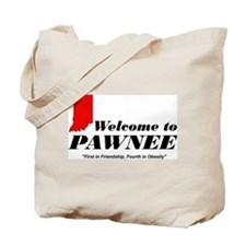 Welcome to Pawnee Tote Bag