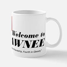 Welcome to Pawnee Mug