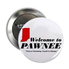 "Welcome to Pawnee 2.25"" Button"