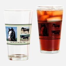 English Shire Drinking Glass