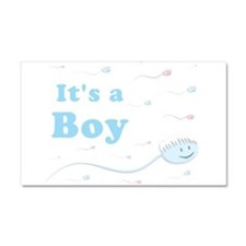 Its a Boy Car Magnet 20 x 12