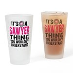 Sawyer Thing Drinking Glass