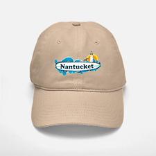 Nantucket MA - Surf Design. Baseball Baseball Cap