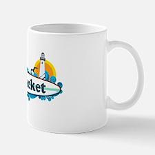 Nantucket MA - Surf Design. Mug