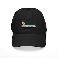 Nantucket MA - Beach Design Baseball Hat