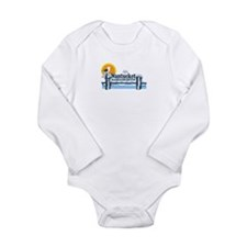 Nantucket MA - Pier Design Long Sleeve Infant Body