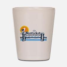 Nantucket MA - Pier Design Shot Glass