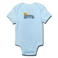 Nantucket MA - Pier Design Infant Bodysuit
