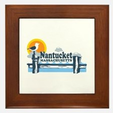 Nantucket MA - Pier Design Framed Tile