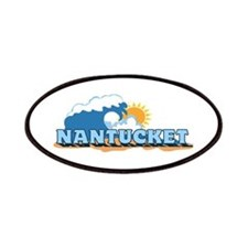 Nantucket MA - Waves Design. Patches