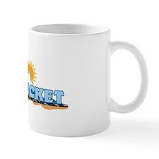 Nantucket MA - Waves Design. Mug