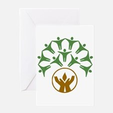 People_Hands_Chalice Greeting Card