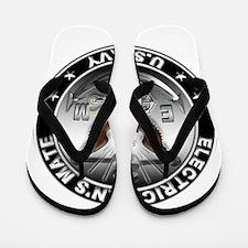 USN Electricians Mate Eagle E Flip Flops