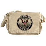 Us navy gas turbine Messenger Bag