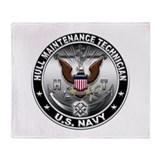 Navy hull maintenance technician Fleece Blankets