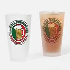 Portuguese Drinking Team Drinking Glass