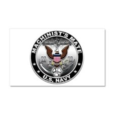 USN Machinists Mate Eagle MM Car Magnet 20 x 12
