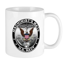USN Machinists Mate Eagle MM Small Small Mug