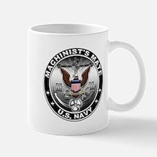 USN Machinists Mate Eagle MM Small Small Mug