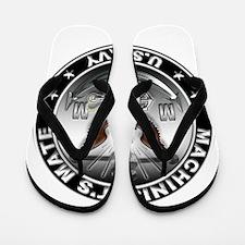USN Machinists Mate Eagle MM Flip Flops