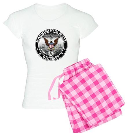 USN Machinists Mate Eagle MM Women's Light Pajamas