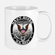 USN Navy Diver Eagle ND Mug