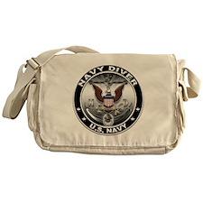 USN Navy Diver Eagle ND Messenger Bag