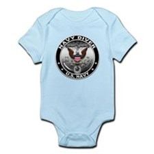 USN Navy Diver Eagle ND Infant Bodysuit