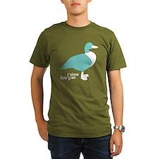 duck_template_blue T-Shirt