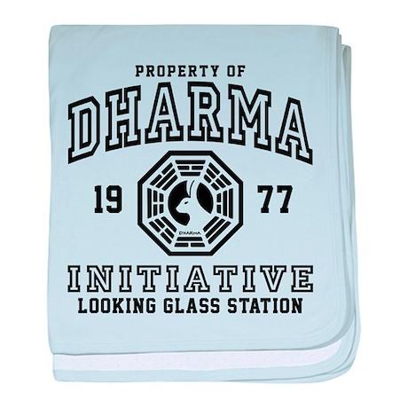 Dharma Looking Glass baby blanket