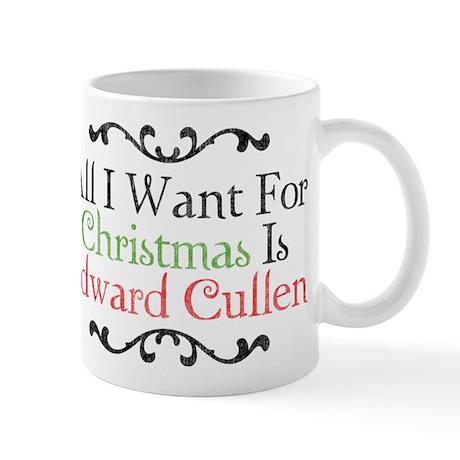 Edward Cullen Christmas 2 Mug
