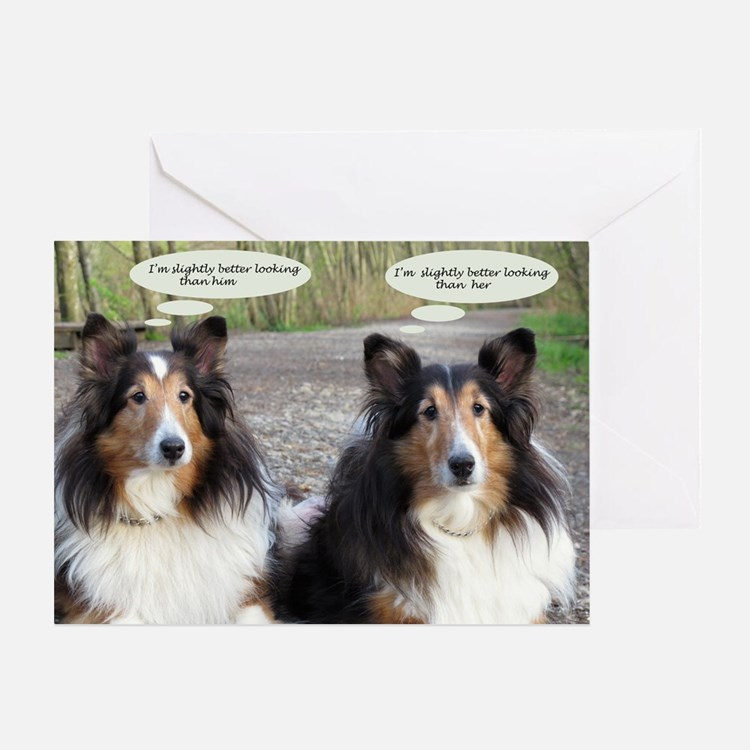 I'm better looking Greeting Card