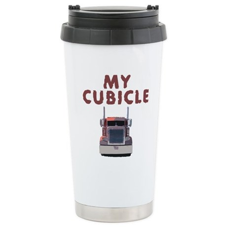 My Cubicle Stainless Steel Travel Mug