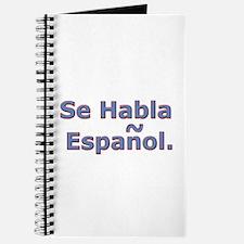 Se Habla Espanol. Journal