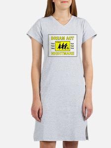 DEPORT ILLEGALS Women's Nightshirt