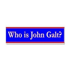 John Galt Car Magnet 10 x 3