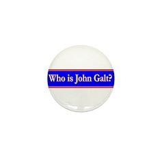 John Galt Mini Button (100 pack)