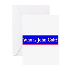 John Galt Greeting Cards (Pk of 10)