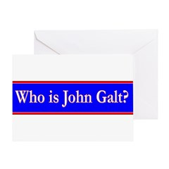 John Galt Greeting Card
