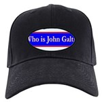 John Galt Black Cap