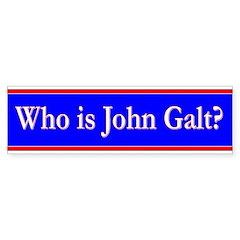 John Galt Sticker (Bumper)