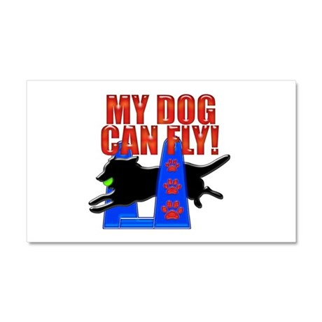 My Dog Can Fly Car Magnet 20 x 12