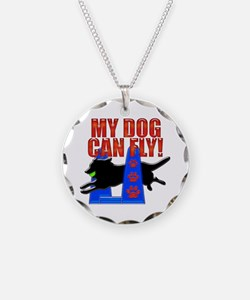 My Dog Can Fly Necklace