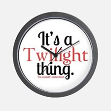 Twilight Thing Wall Clock