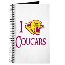 I Love Cougars Cougar Town Journal