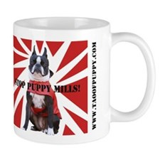 Cute Stop puppy mill Mug