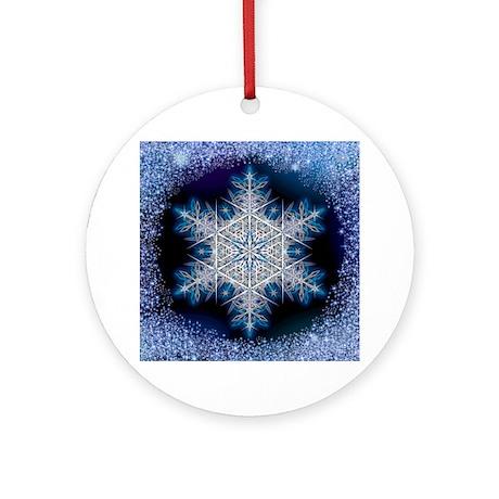 June Snowflake Ornament (Round)