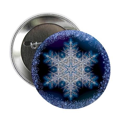"June Snowflake 2.25"" Button"